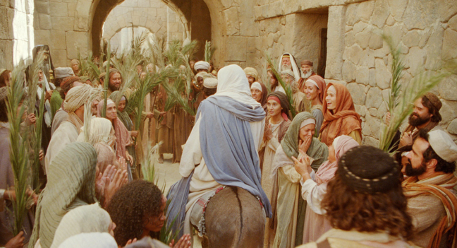 Jesus einzug in jerusalem religionsunterricht